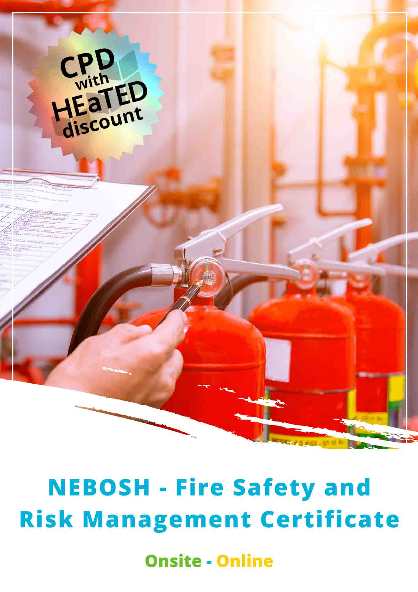 Fire Safety and Risk Management Brochure Image