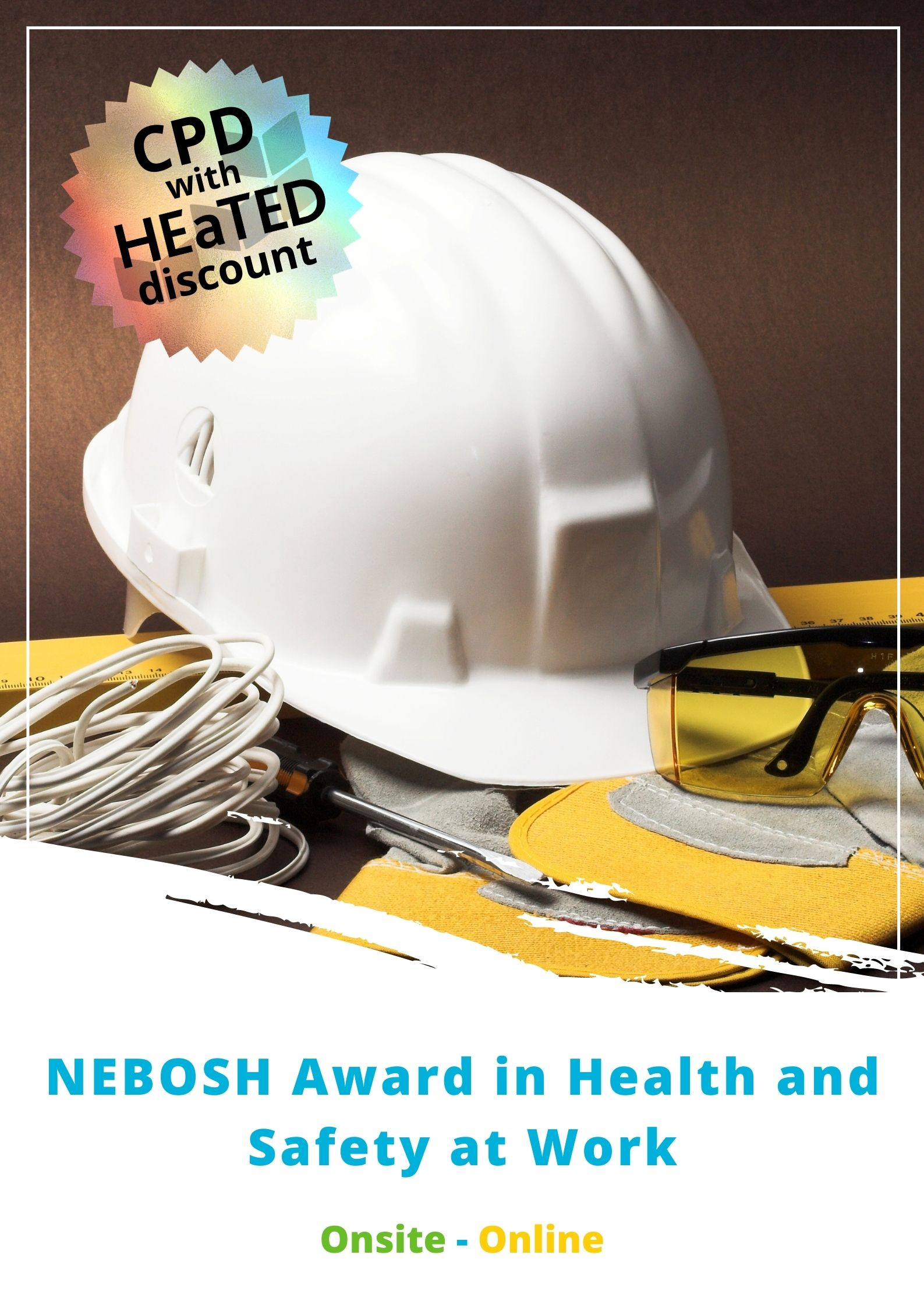 Health and Safety Award Brochure image