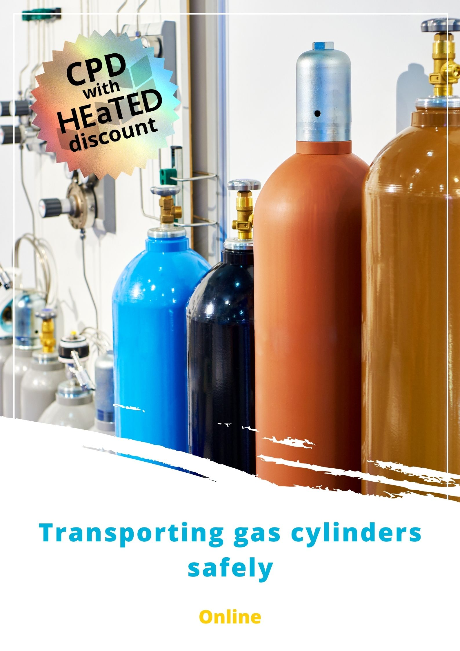 Transporting gas cylinders safely brochure